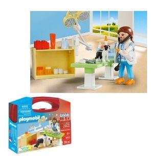 Valisette vétérinaire de Playmobil