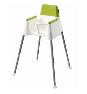 Chaise haute cube