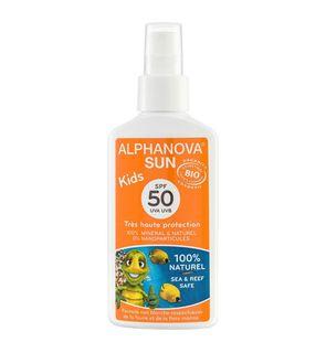 Spray solaire très haute protection SPF 50 + Kids