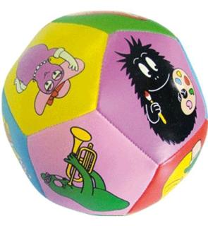 Balle souple Barbapapa
