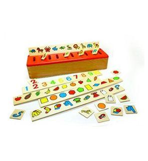 Boîte de tri Montessori de BSM