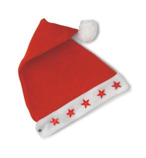 Bonnet lumineux Père Noël - adulte