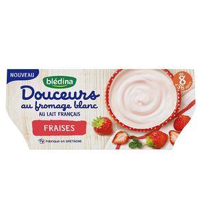 Douceurs au fromage blanc à la fraise
