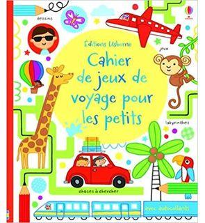 Cahier d'activités pour les petits - En voyage