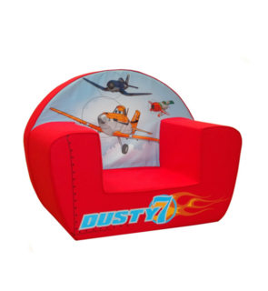 Fauteuil Rouge Planes Dusty Dinsey