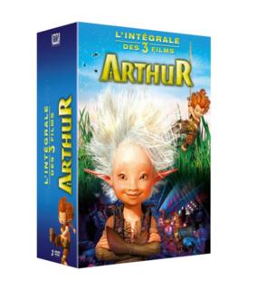 Trilogie DVD Arthur et les Minimoys