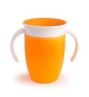 Tasse munchkin d'apprentissage orange douceur