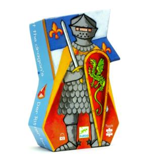 Puzzle Le chevalier au dragon