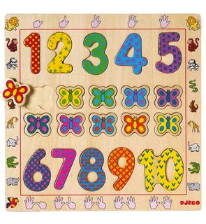 Puzzle des chiffres : 1 à 10