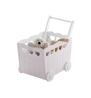 Avis Vertbaudet coffre de rangement bébé à roulettes | Avis de Mamans