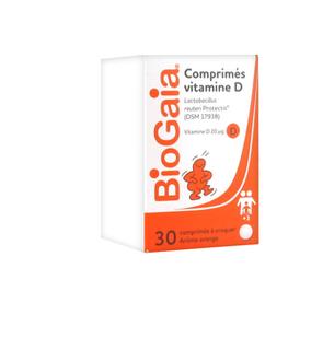 Biogaia comprimés vitamine D