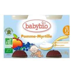 Crème pomme myrtille