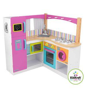 Cuisine en bois jouet Cuisine KidKraft aux couleurs vives