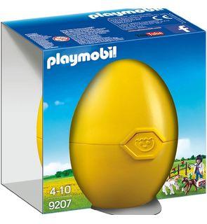 L'œuf vétérinaire avec poulain de Playmobil