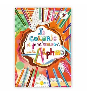 Le cahier de coloriage des Alphas