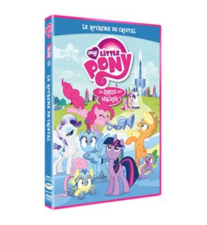 DVD My Little Poney : le royaume de cristal Hasbro Studio