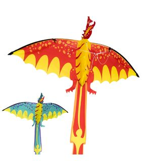 Cerf-volant pop-up dragon d'Oxybul