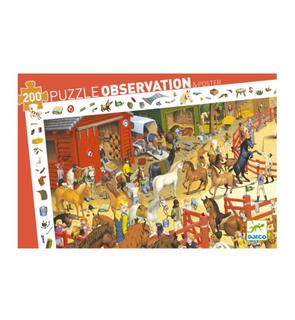 Puzzle équitation découverte 200 pièces