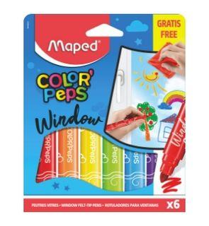 Feutres vitres Color'Peps