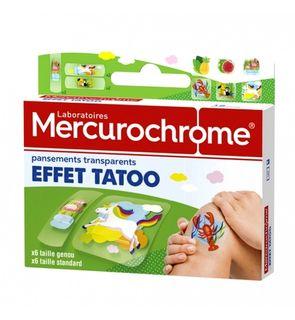 Pansements effet tatoo