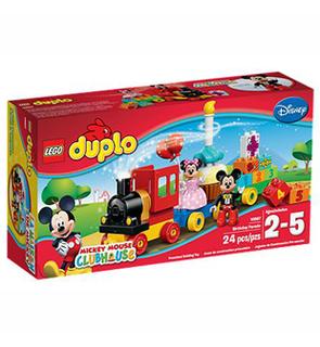 La parade d'anniversaire de Mickey et Minnie Lego Duplo