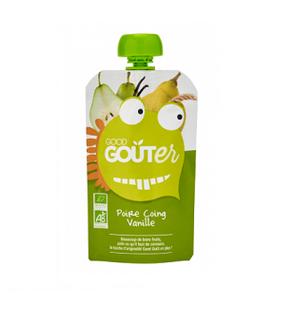 Good Goûter Poire Coing Vanille