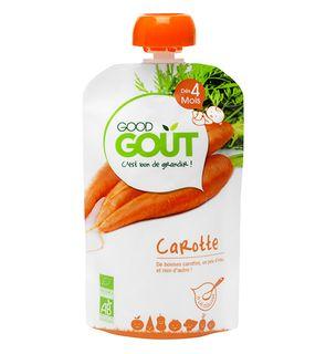 Gourde de légumes : Carotte