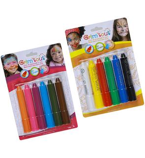 6 Crayons maquillages Grim'stick