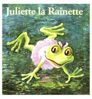 Juliette la Rainette collection Drôle de petites bêtes