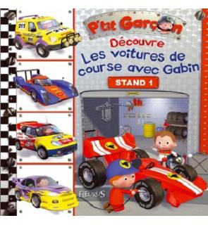 Découverte P'tit garçon Les voitures de course avec Gabin Fleurus
