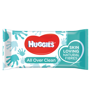 Lingettes all over clean, Huggies