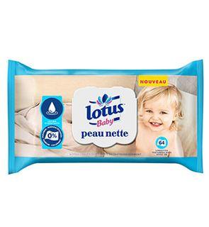 Lingettes Lotus Baby Peau Nette