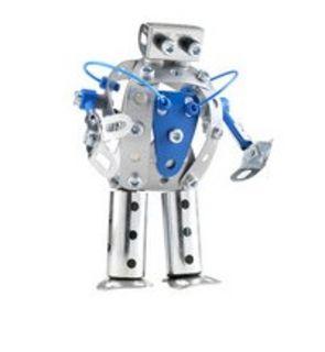 Robot bleu Meccano
