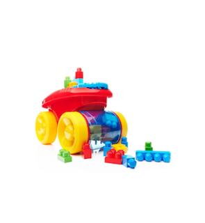 Wagon ramasseur de blocs Mega Bloks