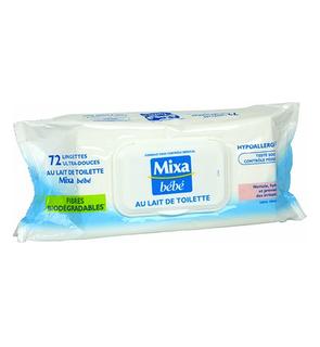Lingettes ultra-douces au lait