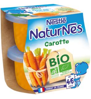 NaturNes carotte bio, Nestlé