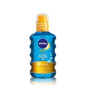 Spray solaire rafraîchissant protect & refresh