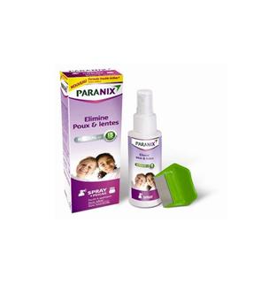 Spray traitement anti-poux et lentes