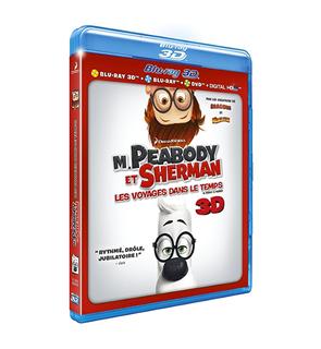 DVD M. Peabody et Sherman
