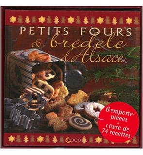 Coffret Petits fours & bredele d'Alsace