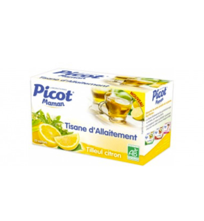 Tisane d'allaitement citron Picot