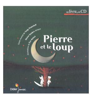 Livre Cd Pierre Et Le Loup