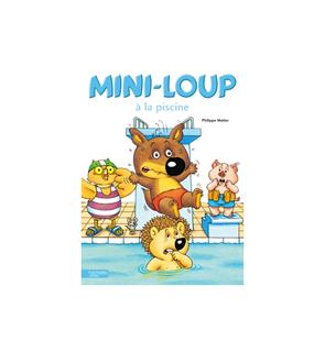 Mini-Loup à la piscine