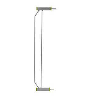 Extension pour barrière de sécurité Plexiglas