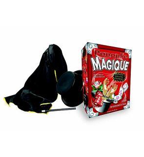 Coffret de magie avec chapeau et cape