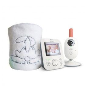 Set babyphone SCD625 de Philips Avent et plaid Doudou & Compagnie