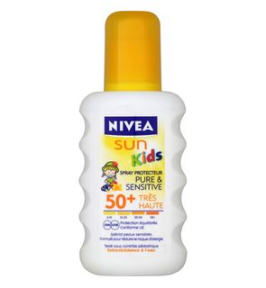 Spray solaire Nivea sun pure & sensitive Kids