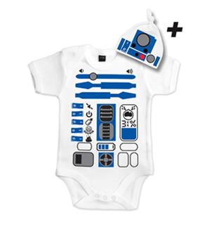 Body bébé R2D2 Star Wars