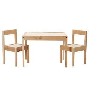 Table et 2 chaises enfant Latt