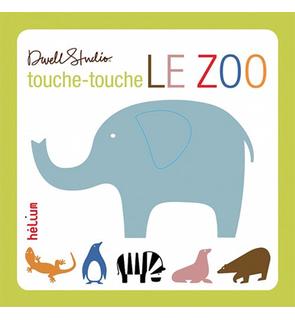 Livre Touche-touche le zoo Helium